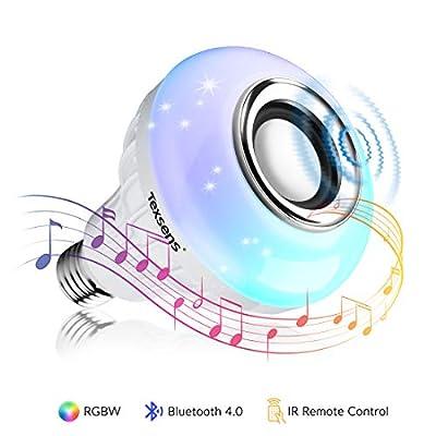 Texsens LED Music Bulb Bluetooth Light Speaker