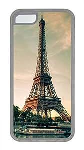 iPhone 5c case, Cute Eiffel Tower 11 iPhone 5c Cover, iPhone 5c Cases, Soft Clear iPhone 5c Covers