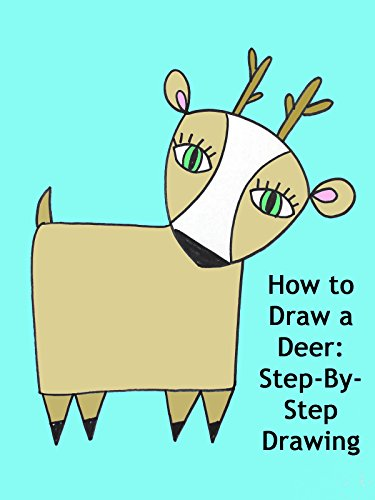 How to draw a deer step by step drawing em winn for How to draw a deer step by step