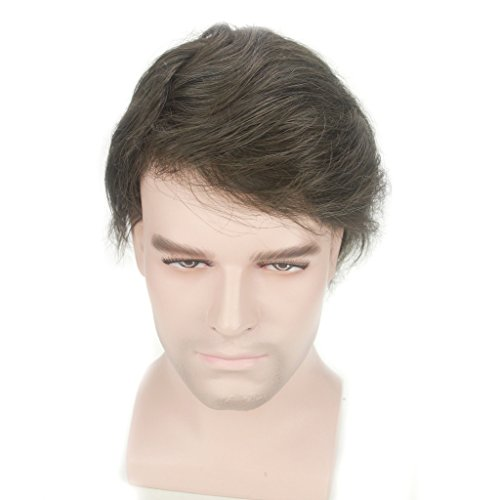 Lordhair Light Men S Toupee Human Hair Pieces Real Hair