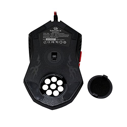 Image Redragon M601 CENTROPHORUS-2000 DPI Gaming Mouse for PC, 6 Buttons, Weight Tuning Set. no. 7