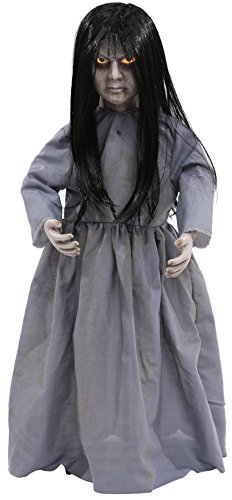 Scary Lil Sweet Vengeance Doll Horror Decoration Animated Halloween -
