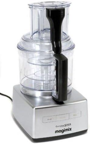 Magimix CS 5200 XL 1100W 3.6L Cromo - Robot de cocina (3,6 L, Cromo, Botones, 1100 W, 210 mm, 260 mm): Amazon.es: Hogar