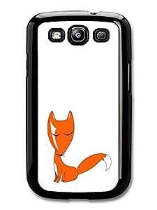 Fox print Cute Print with Fox case for Samsung Galaxy S3