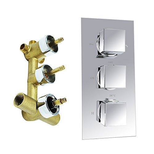 Thermostatic Triple Shower Valve - 4