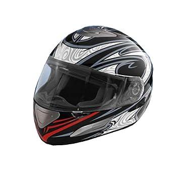 Crivit Jethelm cara completa Motorcyle Moto Scooter casco deportes ...