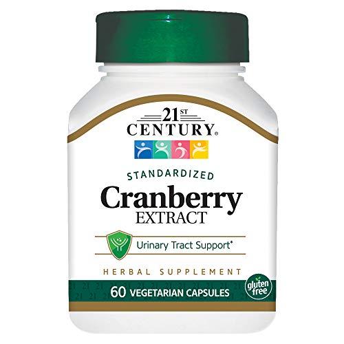21st Century Cranberry Extract Veg Capsules, 60 - Extract Standardized Cranberry