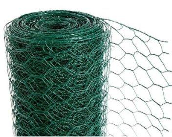 Huhn Draht Zaun, Premium – PVC-beschichtetes Netz – 5,1 cm Loch (2 ...
