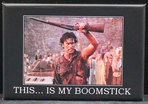 This Is My Boomstick Refrigerator Magnet. Army of Darkness