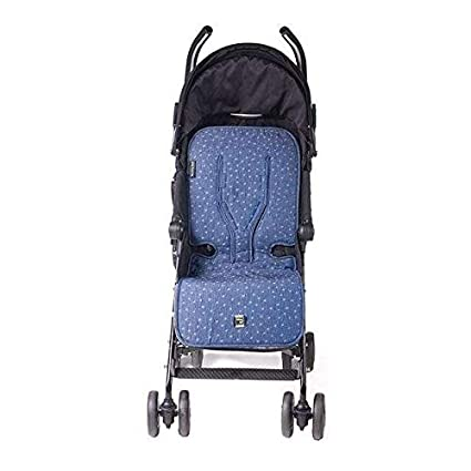 Walking Mum - Colchoneta universal denim baby para silla de ...