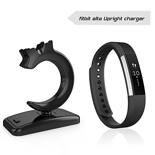 Fitian Fitbit Alta Charger,Fitbit Alta Charger Stand Replacement USB Charging Cable Charging Cradle Dock Charger Station Adapter for Fitbit Alta Smart Fitness Watch