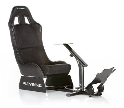 Playseat Evolution-M Alcantara Gaming Seat, Black by Playseat