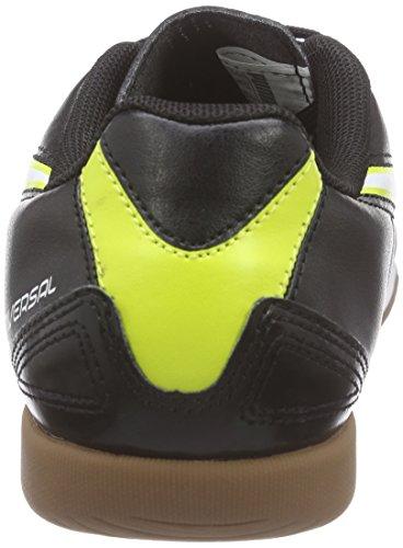 Puma Universal II IT Jr - Zapatillas de Deportes de Interior de material sintético Infantil negro - Noir (black-white-sulphur Spring 03)