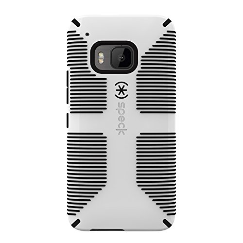 Speck Products CandyShell Grip Cell Phone Case for HTC One M9 - White/Black ()