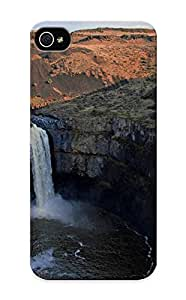 Special Kathewade Skin Case Cover For Iphone 5/5s, Popular Mountains Landscapes Nature Waterfalls Phone Case For New Year's Day's Gift