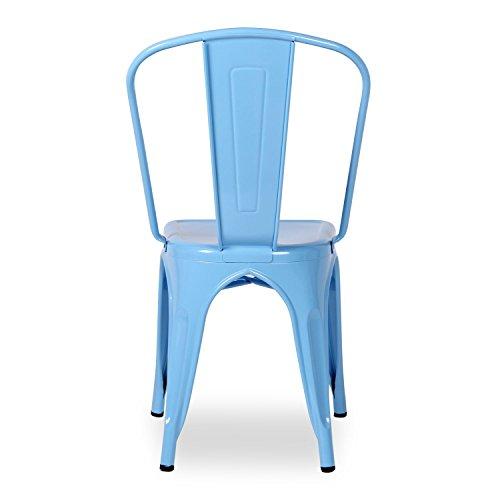 Superstudio terek silla color azul - Superstudio muebles ...