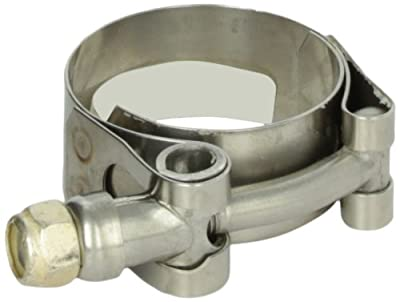 """Trident Marine 720-1000 Stainless Steel T-Bolt Hose Clamps, 3/4"""", Range 1.28"""" to 1.59"""""""