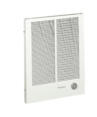 Broan 192 High Capacity Wall Heater, 1000/2000 Watt 240 VAC, White Painted Grille