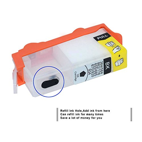 Empty Refillable Ink Cartridge Replacement for HP 564 for
