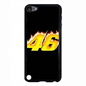 For iPod Touch 5th Phone Funda Valentino Rossi 46 Image Hard Plastic Phone Funda