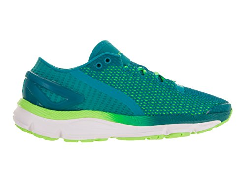 Under Armour Mujeres Ua Speedform Gemini 2.1 Zapatillas De Running Tahitian Teal / White / Lime Light