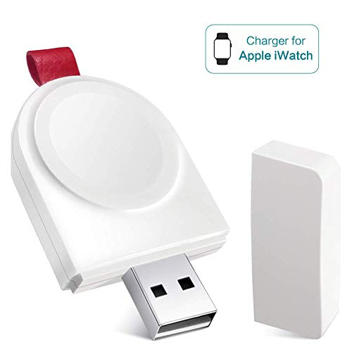Watch Charger, WAFA Portable Magnetic iWatch Wireless Charger Mini USB Charger Compatible for Apple Watch Series 4 3 2 1 44mm 40mm 42mm 38mmq