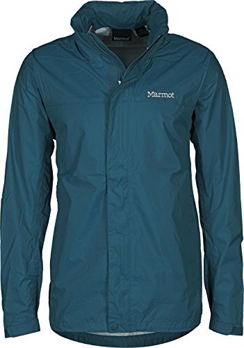 Marmot Men's PreCip Jacket Denim LG