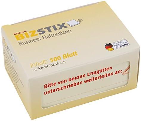 BIZSTIX® Business Haftnotizen
