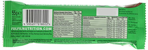 Fulfil Milk Chocolate & Mint Vitamin and Protein Bar - Pack of 15 by Fulfil (Image #4)
