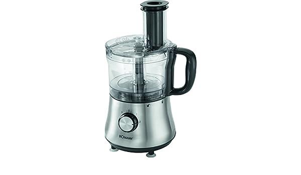 Bomann KM 1382 CB Robot de Cocina, INOX, 500 W, Plástico, Acero inoxidable: Amazon.es: Hogar