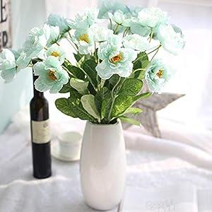 OYTRO Simulation Rosemary Poppy Flower Soft Glue Artificial Flowers Home Decoration Artificial Flowers 68