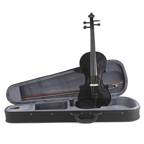 Violino 4//4 nero con custodia morbida standard Stagg 25019977 VN4//4-TBK