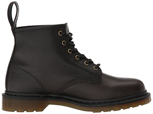 Black Natural Waxy Soft Leather Eye Mens Harvest 101 Black 6 Boots Martens Dr BHwqgtc