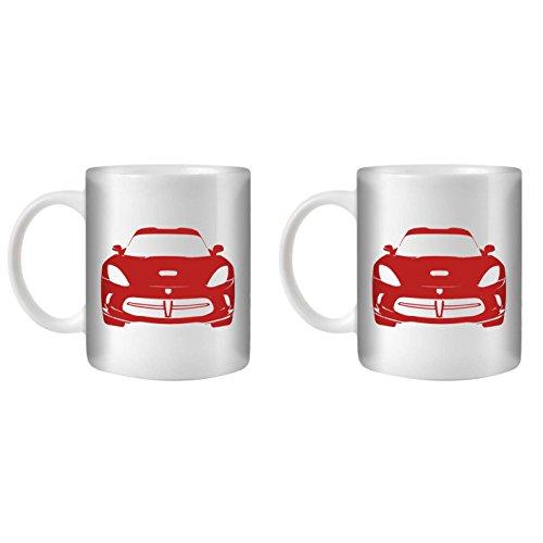 stuff4-tea-coffee-mug-cup-350ml-2-pack-red-viper-gts-white-ceramic-st10