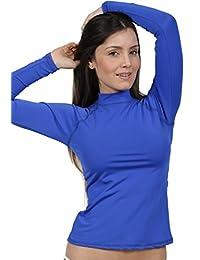 Ingear Ladies Rash Guard Long Sleeve Surf Shirt Swimwear