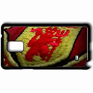 Personalized Samsung Note 4 Cell phone Case/Cover Skin 2013 2013 man utd manchester united Black hjbrhga1544