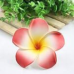 Artificial-Plumeria-10Pcs-9Cm-Plumeria-Hawaiian-Foam-Frangipani-Artificial-Flower-for-Wedding-Party-DecorationMixed-Color