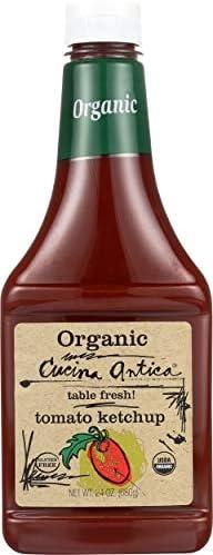 Cucina Antica, Ketchup Tomato Organic, 24 Ounce