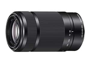 Sony E 55-210mm F4.5-6.3 Lens for Sony E-Mount Cameras (Black)