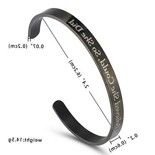 Bracelet Stainless Cuff Sand Steel (Mikash Men Women Stainless Steel Letter Cuff Bracelet Bangle Family Couple Jewelry Gift | Model BRCLT - 12210 |)