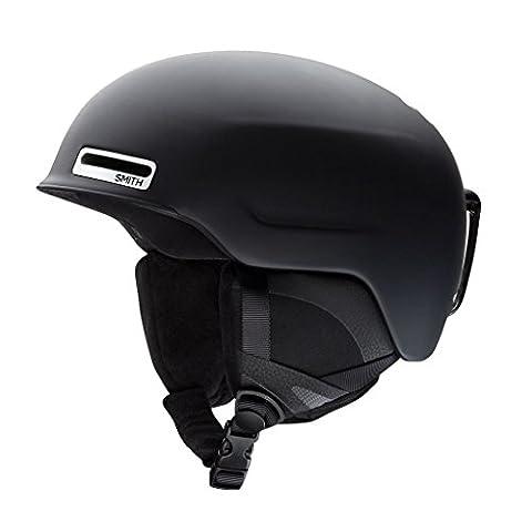 Smith Optics Unisex Adult Maze Snow Sports Helmet - Matte Black Large (59-63CM) - Smith Maze Audio