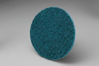 3M Scotch-Brite Roloc Disc SC-DR, Aluminum Oxide, 4'' Diameter, TR, VFN Grit - Lot of 25