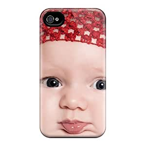 Jeffrehing Scratch-free Phone Case For Iphone 5/5s- Retail Packaging - Super Cute Little Baby