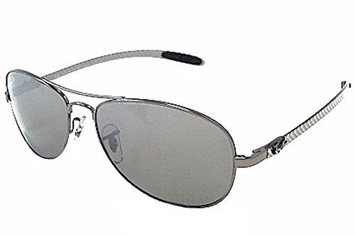 Ray-Ban Men s RB8301 Sunglasses Gunmetal   Cry. Polar Gray Mir Silver Gr  59mm - Buy Online in UAE.   Shoes Products in the UAE - See Prices, ... 8efa56206685
