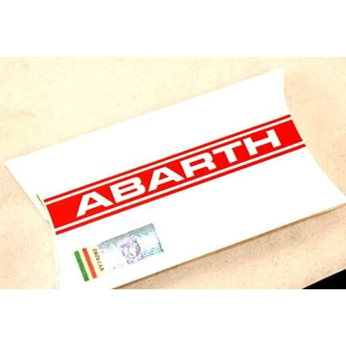Abarth 21757 Black Band Key Ring good