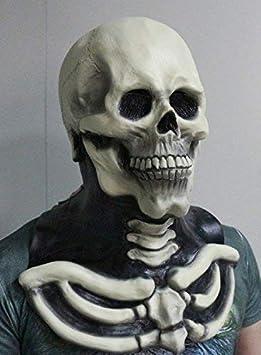 déguisement tête de mort 6