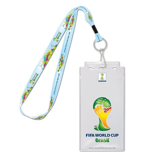 2014 FIFA World Cup Lanyard with Ticket Holder