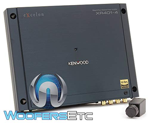 Kenwood Excelon Reference XR401-4 4 Channel Amplifier - Amplifier Auto Kenwood