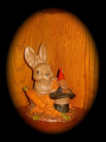 "Tom Clark Gnome/Figurine ""HAREDINI""; RETIRED (1988) WITH COA"