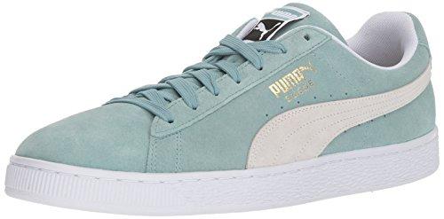 Puma Suede Klassieke Sneaker Aquifer-puma Wit